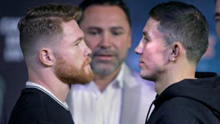 Saul Alvarez vs Gennady Gennadyevich Golovkin. - INDOSPORT