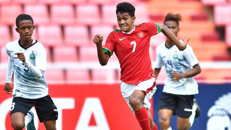 Penggawa Timnas U-16, Amanar Abdillah Copyright: AFC