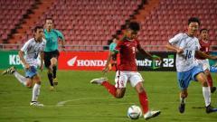 Indosport - Sutan Zico, striker andalan Timnas U-16.