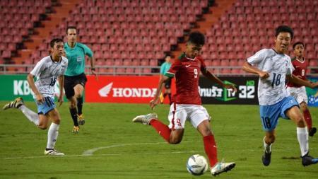 Sutan Zico, striker andalan Timnas U-16. - INDOSPORT