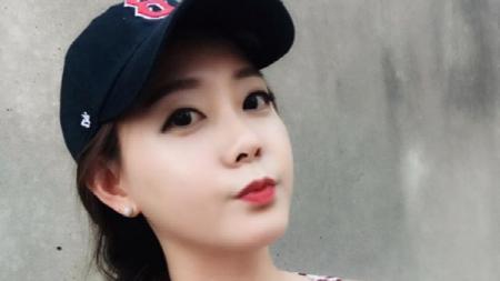 Jennifer Yujin Jun, reporter sekaligus presenter olahraga ISports TV, Korea. - INDOSPORT