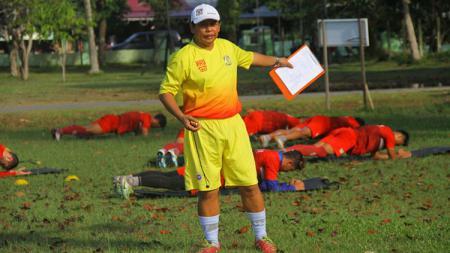 Pelatih Persiba Balikpapan, Hariyadi. - INDOSPORT