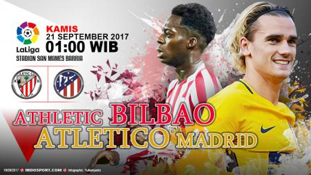 Prediksi Athletic Bilbao vs Atletico Madrid. - INDOSPORT