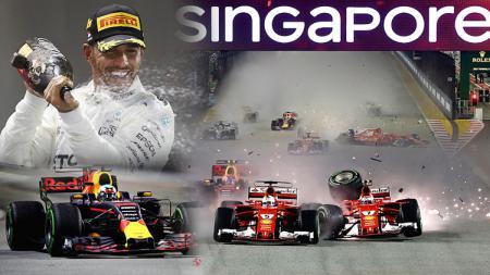 Formula 1 GP Singapura. - INDOSPORT