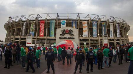 Berikut profil calon venue Piala Dunia 2026 di Meksiko, Eztadio Asteca. - INDOSPORT