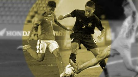 Timnas U-16 vs Thailand. - INDOSPORT