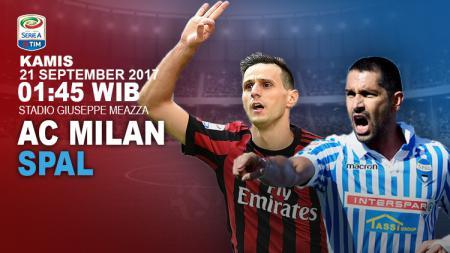 Prediksi AC Milan vs SPAL. - INDOSPORT