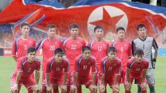 Indosport - Skuat Korea Utara.