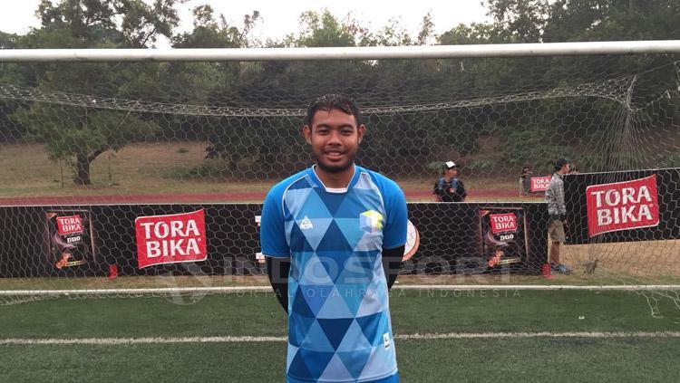 Adixi Lenzivio, kapten PS Perbanas. Copyright: Muhammad Adiyaksa/INDOSPORT