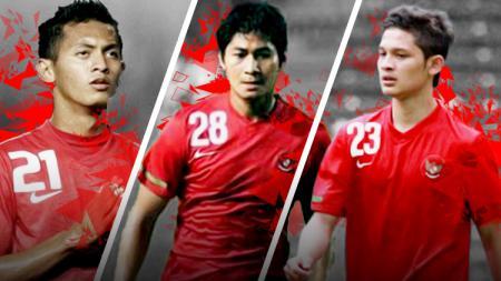 Kiri-kanan: Syamsir Alam, Abdul Rahman, dan Yongki Ariwibowo. - INDOSPORT