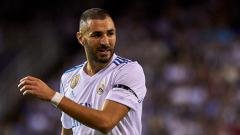 Indosport - Karim Benzema, striker Real Madrid.