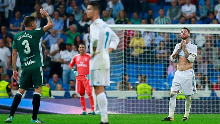 Real Madrid v Real Betis Copyright: Indosport.com