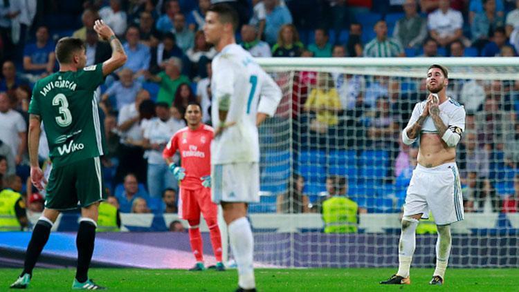 Real Madrid v Real Betis Copyright: Indosport.com