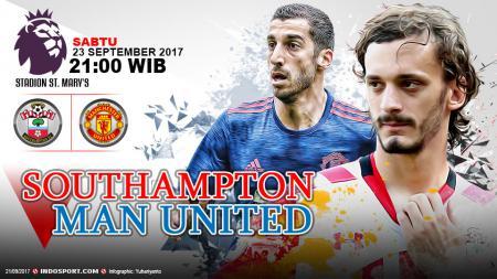 Prediksi Southampton vs Manchester United. - INDOSPORT