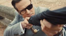 Colin Firth dalam Kingsman: The Golden Circle.