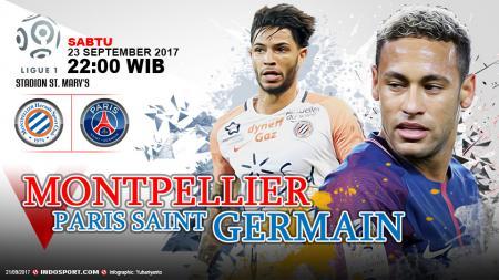 Prediksi Montpellier vs Paris Saint-Germain. - INDOSPORT