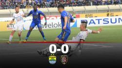 Hasil pertandingan Persib Bandung vs Bali United.