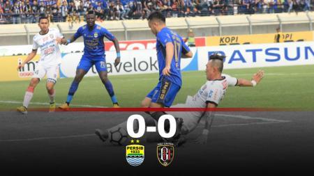 Hasil pertandingan Persib Bandung vs Bali United. - INDOSPORT