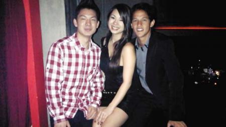 Kiri-kanan: Kim Kurniawan, Jennifer, dan Irfan Bachdim. - INDOSPORT