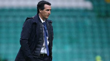 Unai Emery, pelatih Paris Saint-Germain. - INDOSPORT