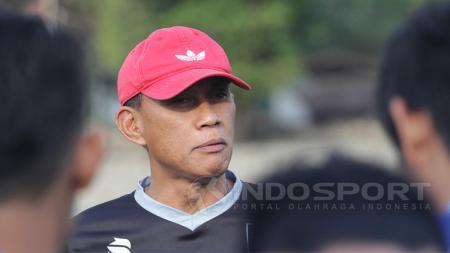 Pelatih Persijap Jepara, Widyantoro. - INDOSPORT