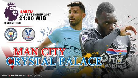 Prediksi Manchester City vs Crystal Palace. - INDOSPORT