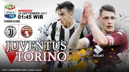 Prediksi Juventus vs Torino. - INDOSPORT