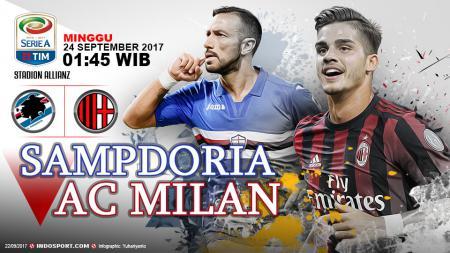 Prediksi Sampdoria vs AC Milan. - INDOSPORT