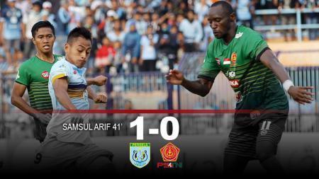 Hasil pertandingan Persela Lamongan vs PS TNI. - INDOSPORT