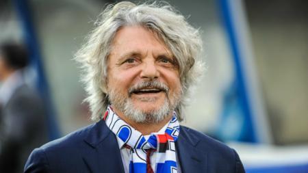 Massimo Ferrero, Presiden Sampdoria. - INDOSPORT