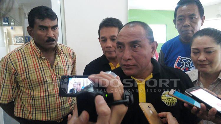 Ketua PSSI, Edy Rahmayadi. Copyright: Kesuma Ramadhan/INDOSPORT