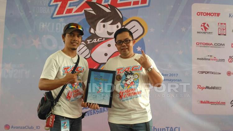 Komunitas Toyota Avanza Club Indonesia (TACI). Copyright: Petrus Manus Da Yerimon/INDOSPORT