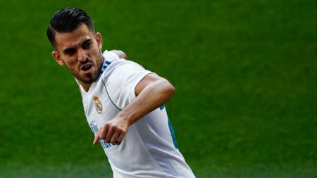 Daniel Ceballos, bek kanan Real Madrid. - INDOSPORT