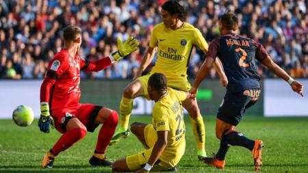 Montpellier vs PSG. - INDOSPORT