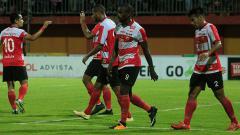 Indosport - Para pemain Madura United.