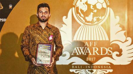 Stefano Lilipaly (Bali United), penghargaan Best XI AFF Award 2017. - INDOSPORT