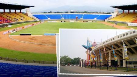 Stadion Si Jalak Harupat. - INDOSPORT