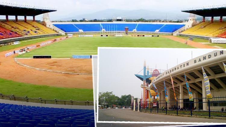 Stadion Si Jalak Harupat. Copyright: INDOSPORT/Istimewa