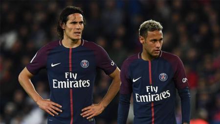 Edinson Cavani dan Neymar. - INDOSPORT