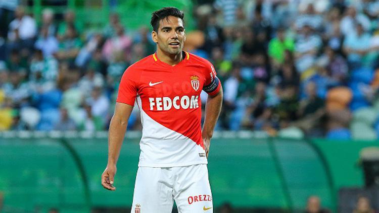 Radamel Falcao, striker AS Monaco. Copyright: INDOSPORT