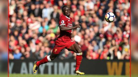 Sadio Mane, pemain bintang Liverpool. - INDOSPORT