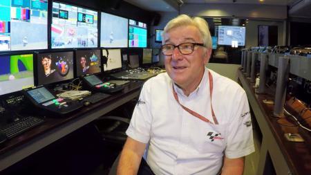 Nick Harris komentator MotoGP. - INDOSPORT