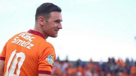 Shane Smeltz saat masih memperkuat Borneo FC - INDOSPORT