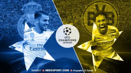 Real Madrid vs Borussia Dortmund. - INDOSPORT