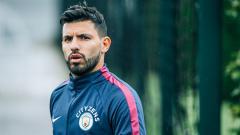 Indosport - Sergio Aguero, penyerang utama Man City.