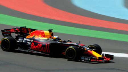 Daniel Ricciardo di GP Azerbaijan 2017 - INDOSPORT