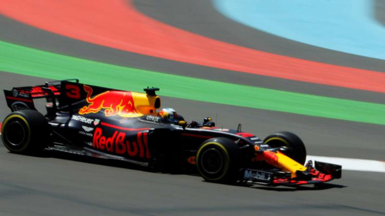 Ricciardo di GP Azerbaijan 2017 Copyright: David Mdzinarishvili/Reuters
