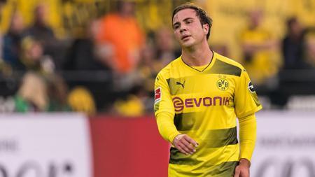 Mario Gotze, playmaker Borussia Dortmund, menjadi incara Inter Milan. - INDOSPORT