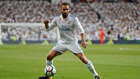 Dani Carvajal, bek sayap Real Madrid. - INDOSPORT