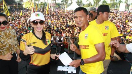 Rita Widysari di Mitra Kukar FC. - INDOSPORT